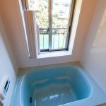 浴室からも海が見えます