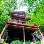 兵庫県宍粟市一宮町 和のテイストとインパクトのある空間が素敵な別荘