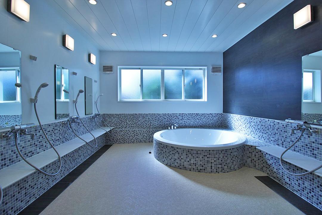 お洒落な大浴場