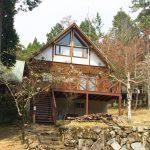 兵庫県宍粟市一宮町ウッドテラスのある中古ログハウス