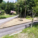 兵庫県宍粟市一宮町 緑豊かな自然の風景が楽しめる175坪の角地