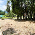 兵庫県宍粟市一宮町 緑豊かな自然の風景が楽しめる69坪の土地