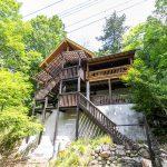 兵庫県姫路市安富町 囲炉裏部屋のある宴会仕様の本格ログハウス
