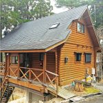姫路市安富町関にある自然豊かな別荘地に建つログハウス