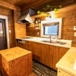 おしゃれな木製キッチン