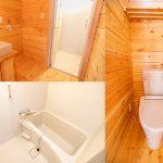 ゲストルームの洗面・浴室・トイレ