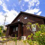 滋賀県高島市新旭町 60坪の南西角地に建つウッディハウス