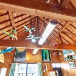 開放的なリビング天井