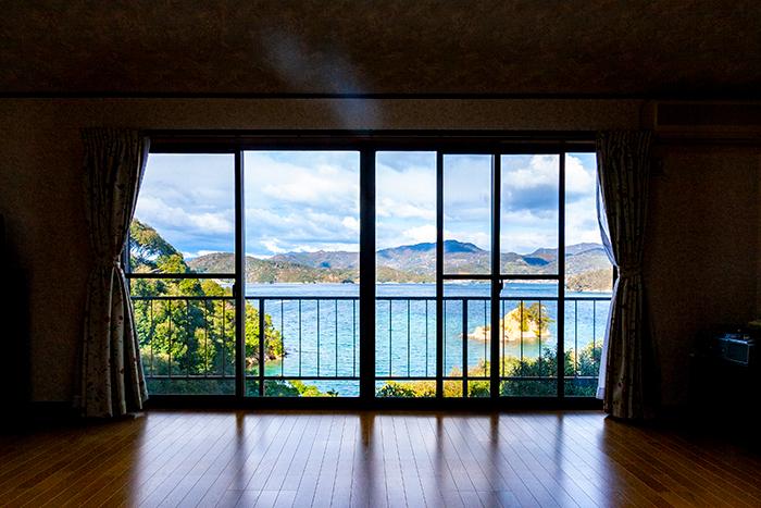2階洋室からの眺め