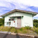 和歌山県西牟婁郡白浜町 バルコニーから海が見える緑光台別荘地の平屋別荘