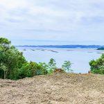 和歌山県白浜町 「バラード白浜」にある田辺湾一望の土地300坪