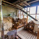 薪ストーブ小屋