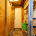 風呂・トイレ前スペース(脱衣所)