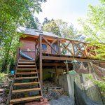 京都府南丹市園部町 登り傾斜に建つ見晴らしのいいウッディハウス