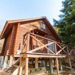 神崎郡市川町奥 自然豊かな別荘地に建つログハウス