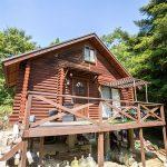 兵庫県神崎郡市川町奥 自然豊かな別荘地に建つ隠れ家的ログハウス