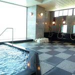 マンション1階に温泉大浴場